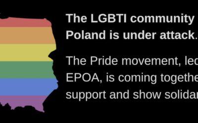 Pride movement unites to support LGBTI community 'under attack' in Poland