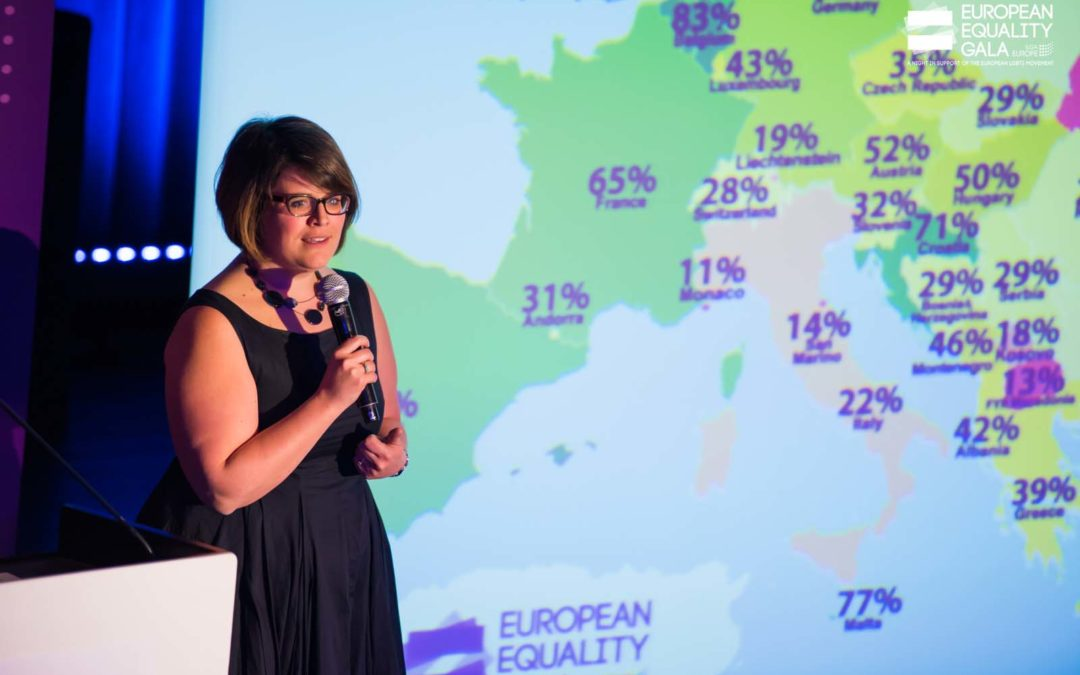 My #Pride2020: Evelyne Paradis, Executive Director of ILGA Europe